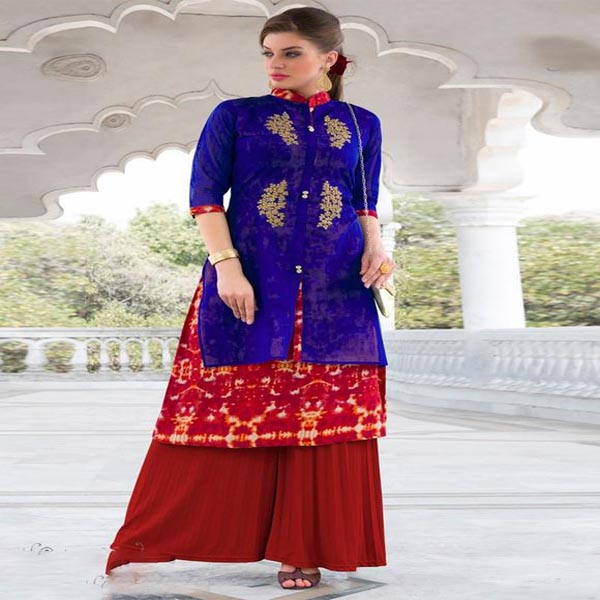Collection Of Embroidered Kurtis In India