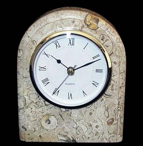 Coral Stone Clock