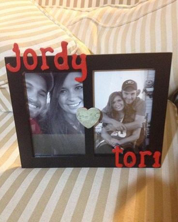 Couple Frame Valentine Craft