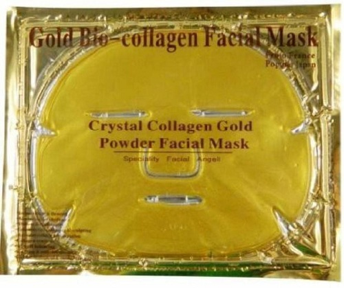 Crystal Gold Collagen Face Mask