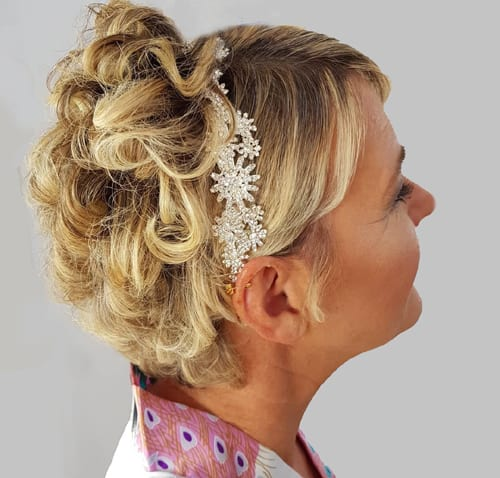 9 Easy And Elegant Bridal Hairstyle For Short Hair In 2019