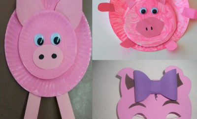 Cute Pig Arts and Crafts Ideas for Kids and Toddlers