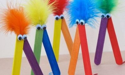 Eye-Catching Easy Spring Crafts For Kids