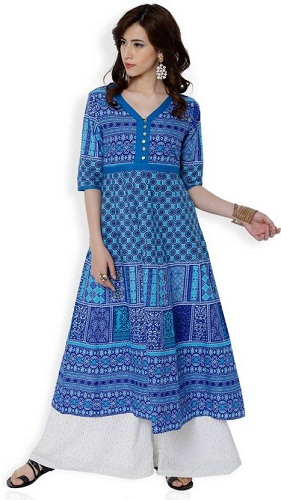 Festive & Party Printed Women Kurti