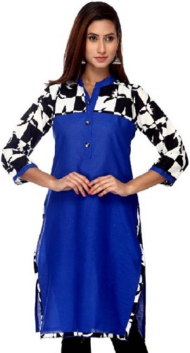 Formal Animal Print Women's Kurti