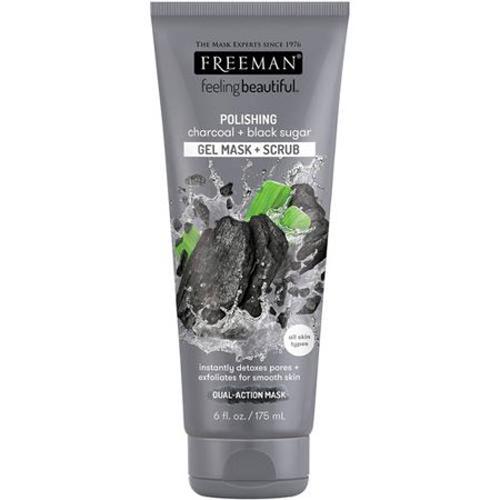 Free Man Charcoal Face Wash