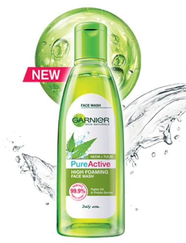 Garnier Pure Active Foaming Face Wash