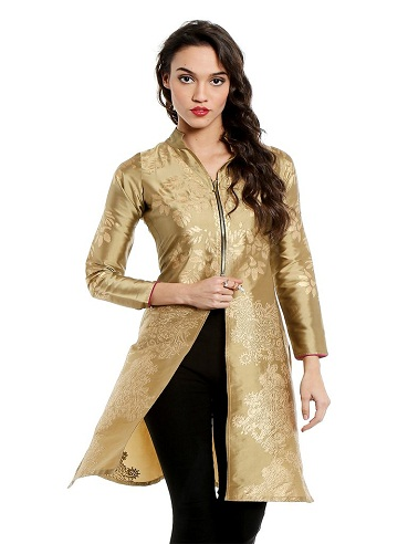 9 Best Golden Kurta Designs For Women And Men Styles At Life