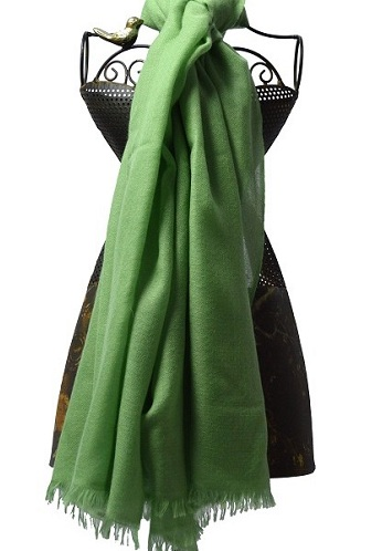 Handwoven Cashmere Scarf for Ladies