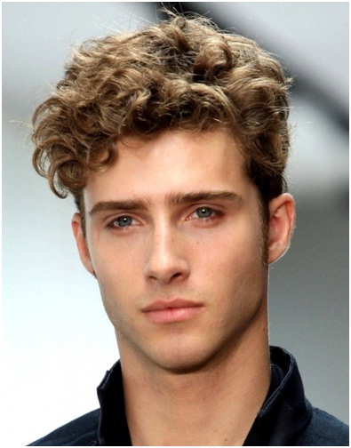 The Curly Peak Hairstyle