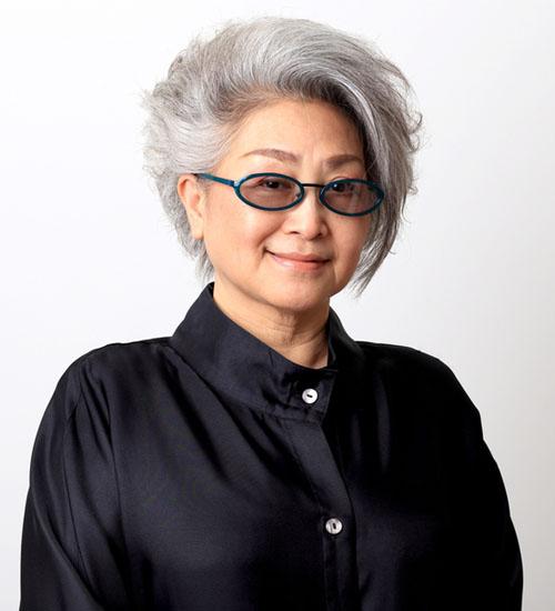 Smart Japanese Hair Idea for Older Women
