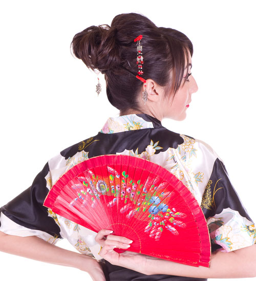 Traditional Japanese Hair Knot