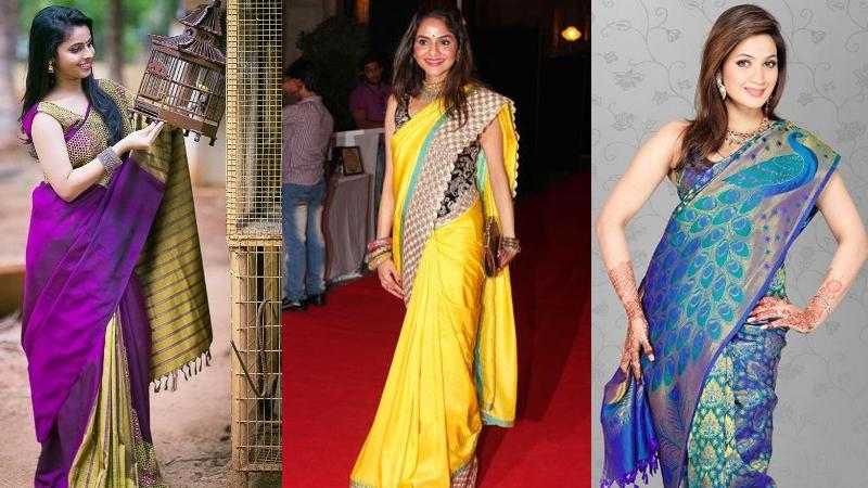 Kanchi Pattu Sarees With Images