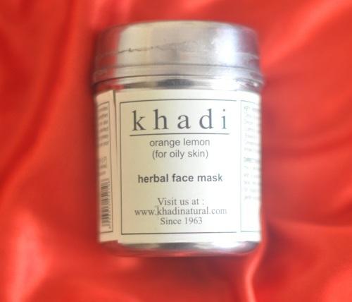 Khadi Orange Lemon Face Mask