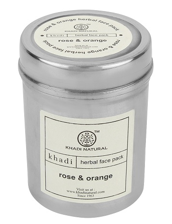 Khadi Rose and Orange Face Pack