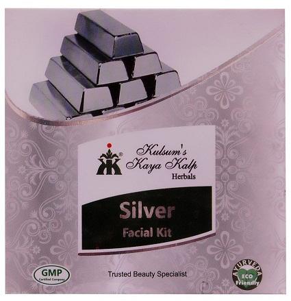 Kulsum's Kaya Kalp Silver Facial Kit