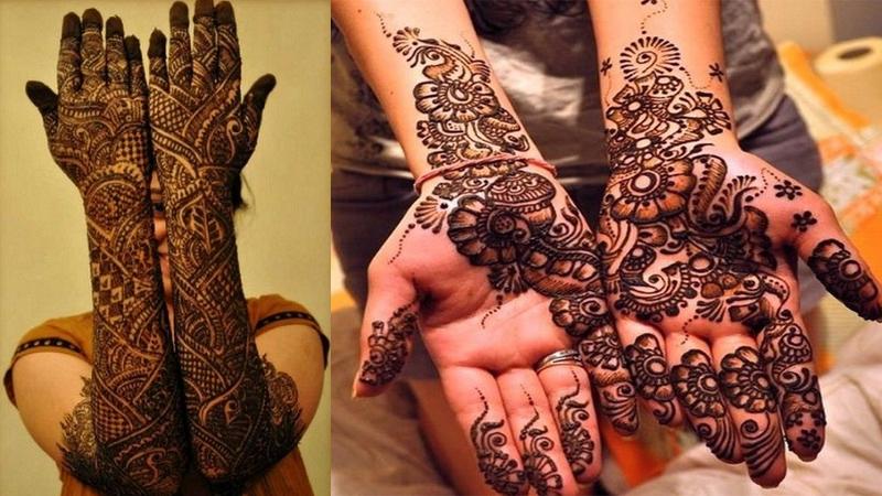 Asha Savla Mehndi Designs