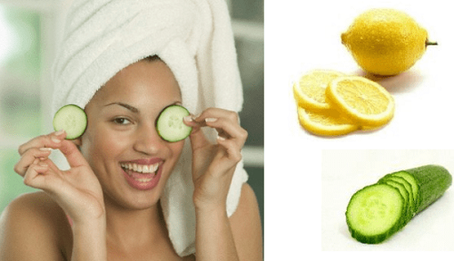 Lemon Juice with Cucumber