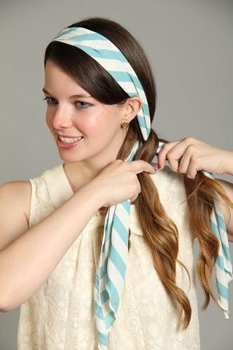 Long Hair Scarf