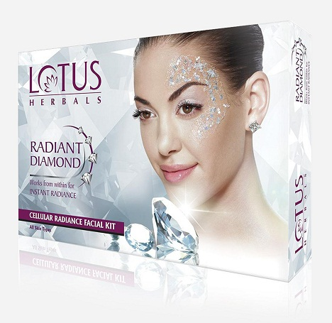 Lotus Herbals Radiant Diamond Facial Kit