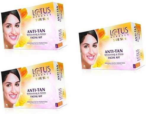Lotus Anti-Tan Facial Kit