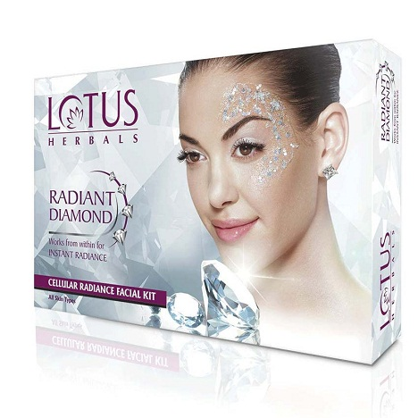 Lotus Diamond Facial Kit
