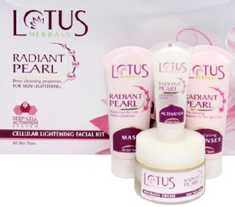 Lotus Facial Kit for Oily Skin