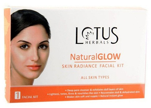 Lotus Natural Glow Facial Kit