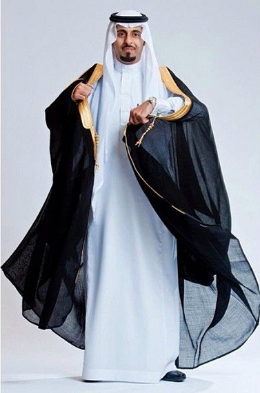 Majestic Arab Robe