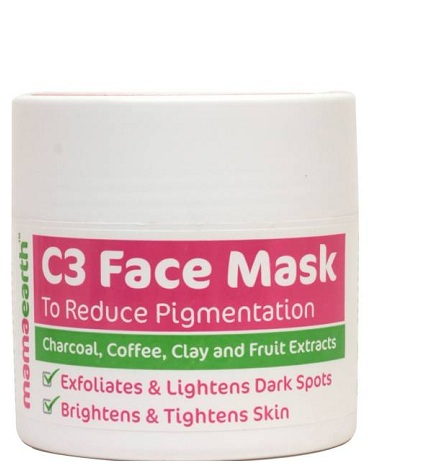 Mam earth Charcoal, Coffee and Clay Face Mask