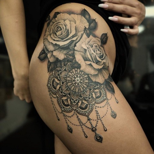 7e92755a1 17 Best Mandala Tattoo Designs To Wear a Piece of Art In 2018