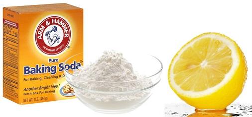 Mask of Baking Soda with Lemon