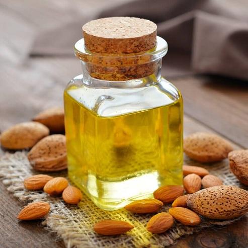 Massage with Almond Oil To Remove Dark Circles Under Eyes men