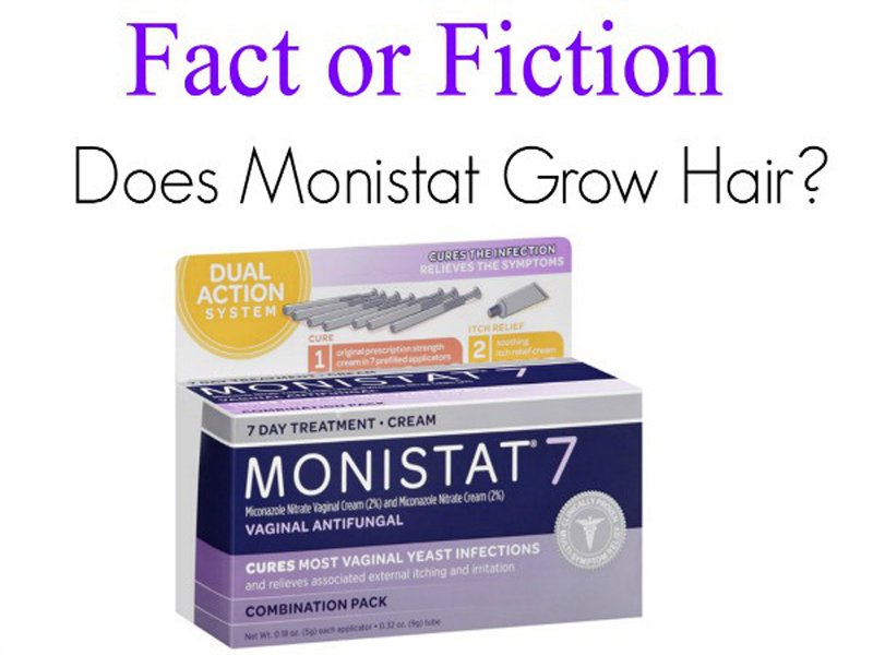 monistat for hair growth