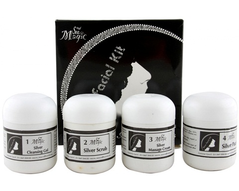 Nature's Essence Silver Facial Kit