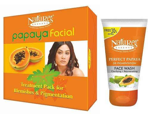 Nature's Papaya Facial Kit