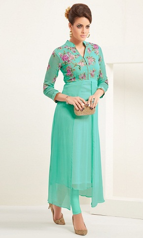 Open Cut Layer Kurti