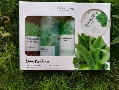 Oriflame Love Nature Facial Pack
