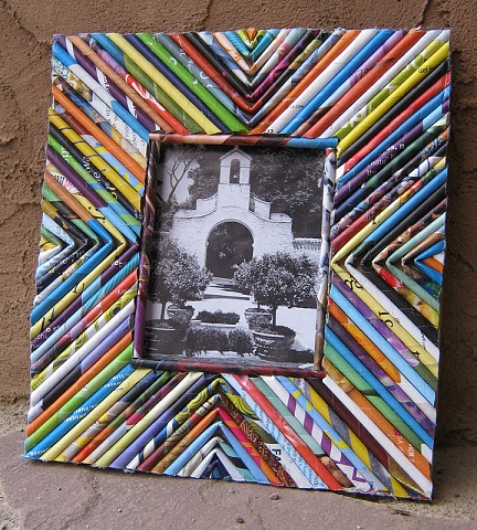 Paper Crafted Photo Frame