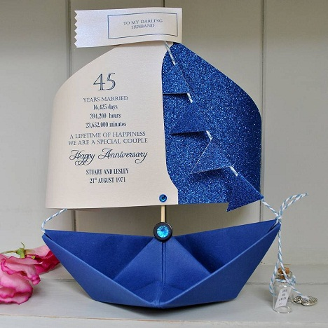 Paper Sail Card