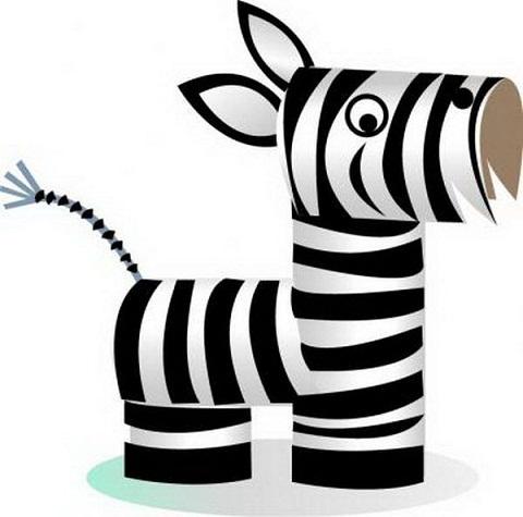 Paper Zebra Craft