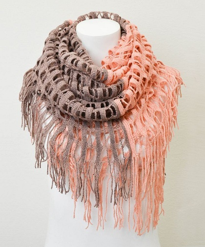 Party wear Infinity Scarf