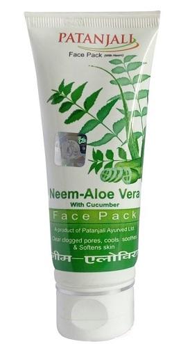 Patanjali Aloe Vera Neem Face Pack