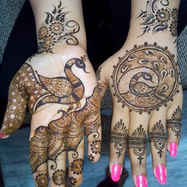 best marwadi mehndi designs