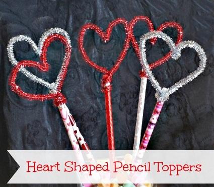 Pencil Valentine Craft