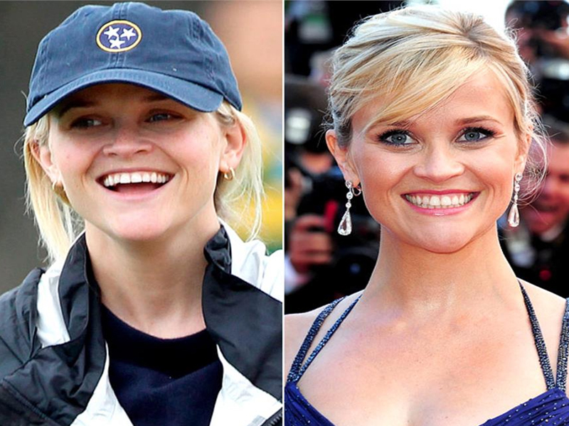 Reese Witherspoon without Makeup