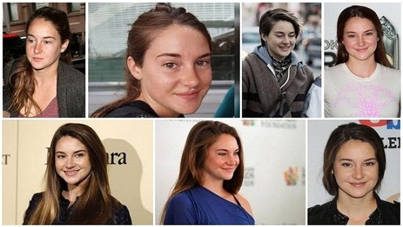 Shailene Woodley without Makeup