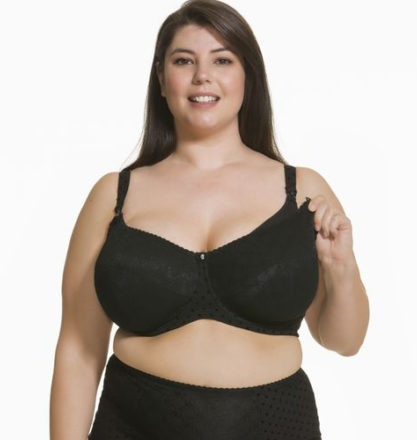 6e4a07bcee168 This is one of the most stylish and comfortable maternity bra for mammas  with bigger boobs. It offers the right support for your oversized breasts  with a ...