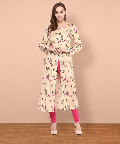 236477b58f0a1 15 Latest And Trendy Printed Kurti Designs In India | Styles At Life