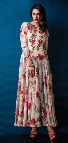 Printed Gown Kurti